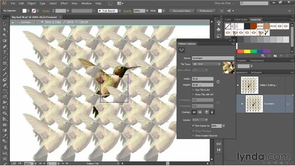 Creating a pixel-based-image pattern brush: Illustrator CC 2013 One-on-One: Mastery