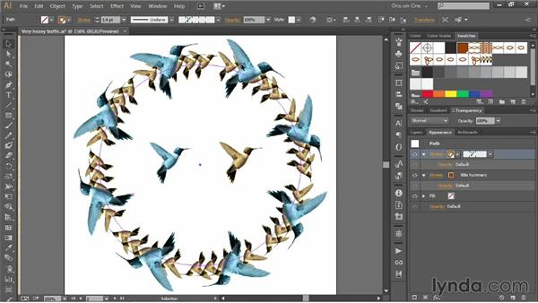 Spacing and orienting pattern brushes: Illustrator CC 2013 One-on-One: Mastery