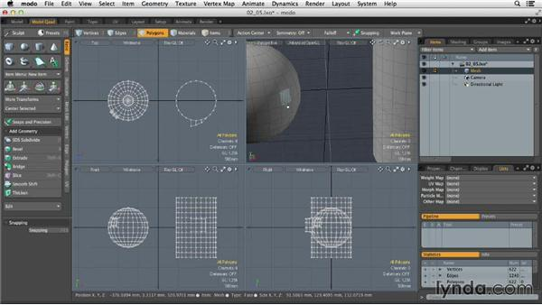Creating custom modeling tools: MODO 701 Essential Training