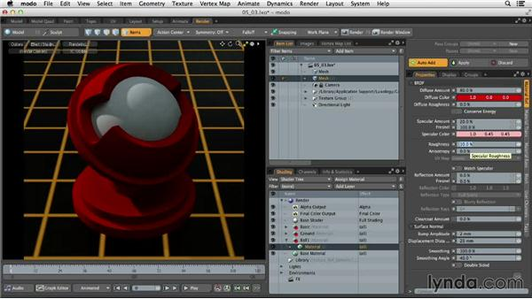 Understanding Material Ref settings: MODO 701 Essential Training