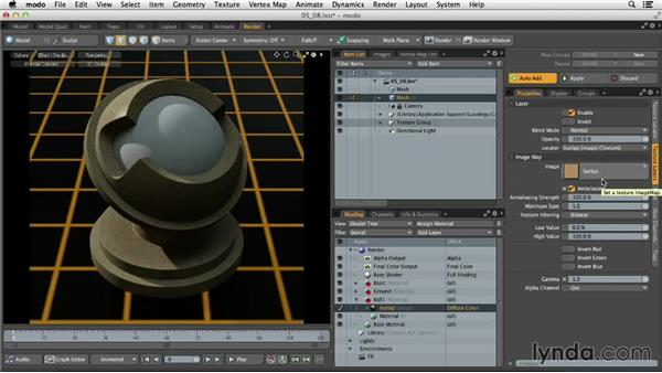 Understanding image-based textures: MODO 701 Essential Training