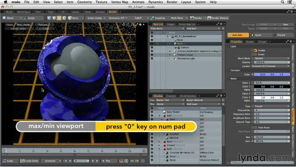 Designing complex multilayer materials: MODO 701 Essential Training