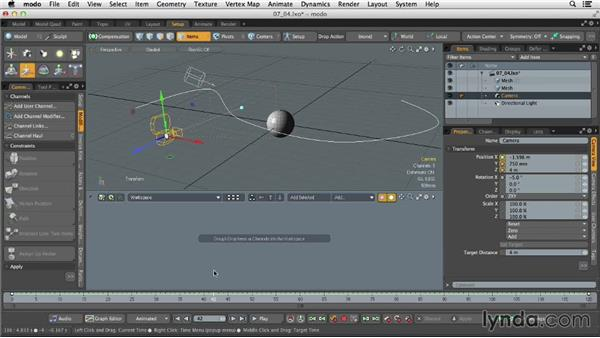 Animating with constraints: MODO 701 Essential Training