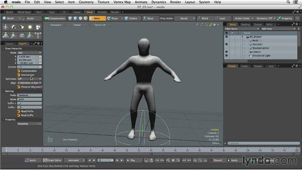 Animating with bones and joints: MODO 701 Essential Training