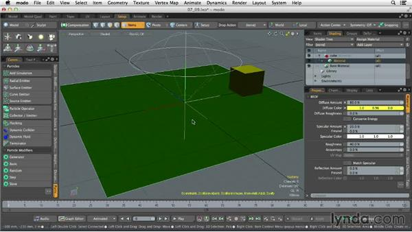 Introducing particles: MODO 701 Essential Training