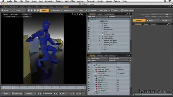 Understanding rendering in MODO: MODO 701 Essential Training