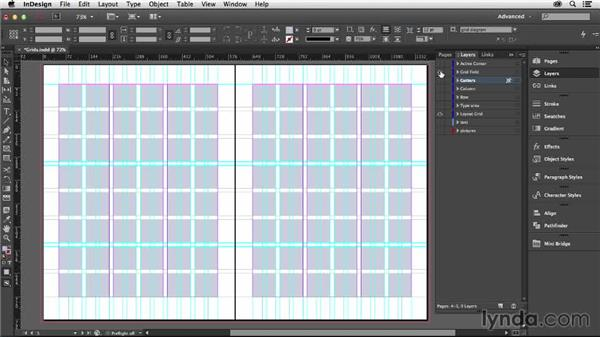 The parts of a grid: Designing with Grids in InDesign