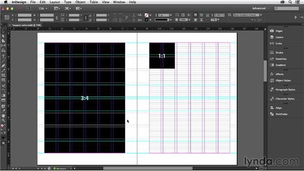 Determining your page size: Designing with Grids in InDesign