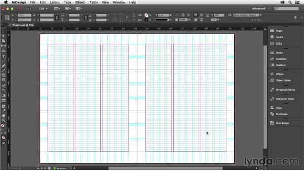 Setting up your baseline grid: Designing with Grids in InDesign