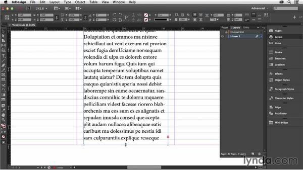"""Ensuring that your text columns """"bottom out"""": Designing with Grids in InDesign"""