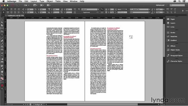 Fitting subheads to your grid: Designing with Grids in InDesign