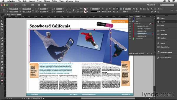 Breaking your grid with pop-out images: Designing with Grids in InDesign