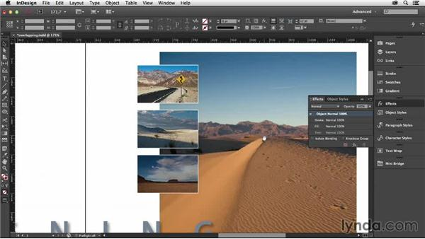 Overlapping images on your grid: Designing with Grids in InDesign