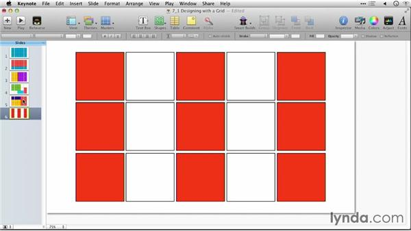 Designing with a grid: Keynote: Using Photos and Videos Effectively for Great Presentations