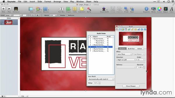 Animating layers over time: Keynote: Using Photos and Videos Effectively for Great Presentations
