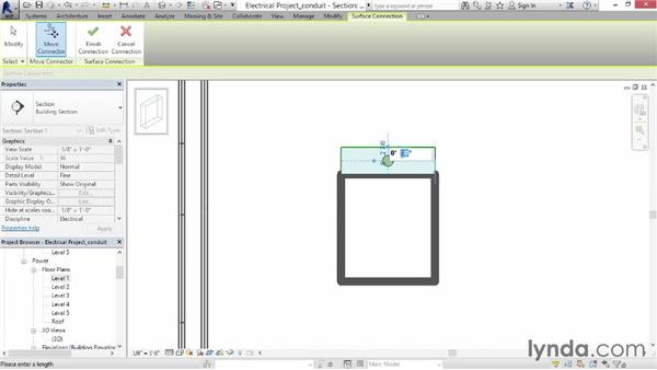 Adding conduit: Revit MEP 2014 Essential Training