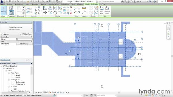 Starting a mechanical project: Revit MEP 2014 Essential Training