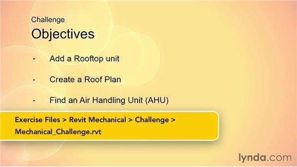 Challenge: Mechanical: Revit MEP 2014 Essential Training