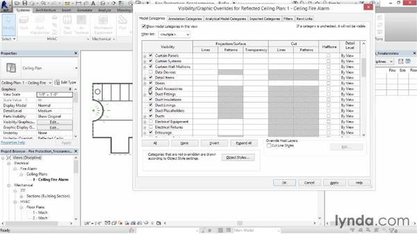 Creating a fire alarm circuit: Revit MEP 2014 Essential Training