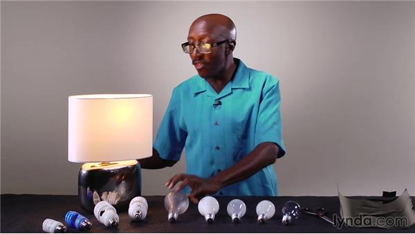 Using lamps as practical lights: Video Production Techniques: Location Lighting