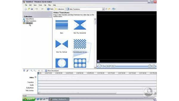 starting a project and organizing data: Learning Windows Movie Maker 2
