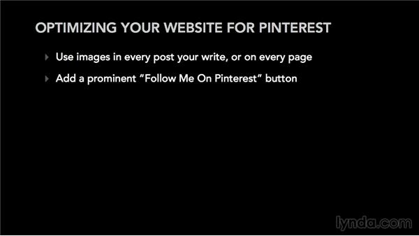 Optimizing your website for Pinterest: Pinterest for Musicians and Bands