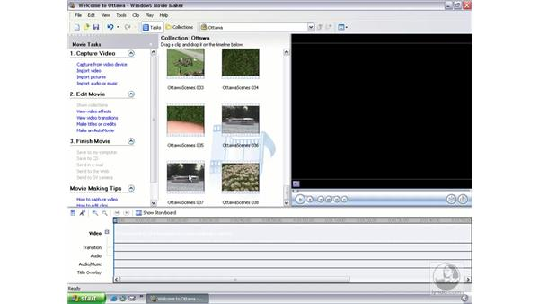 creating photos from video clips: Learning Windows Movie Maker 2