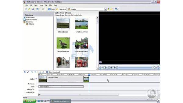adding and removing clips: Learning Windows Movie Maker 2
