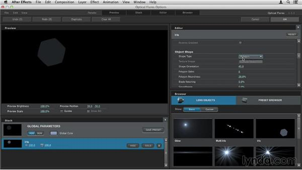 Using custom layers as lens objects: Up and Running with Optical Flares