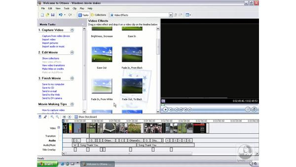saving a movie (to various formats and locations): Learning Windows Movie Maker 2