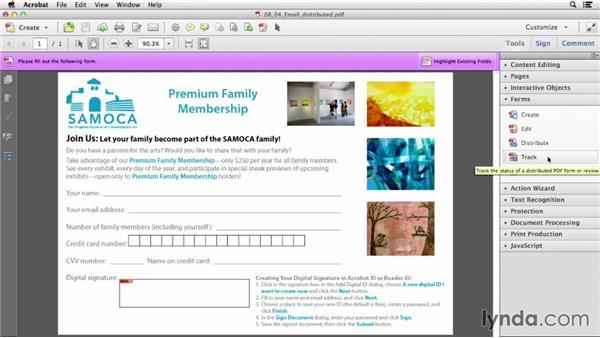 Distributing PDF forms on internal servers or web servers: Acrobat XI: Creating Forms