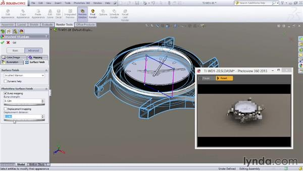 SOLIDWORKS materials: SOLIDWORKS Rendering with PhotoView 360