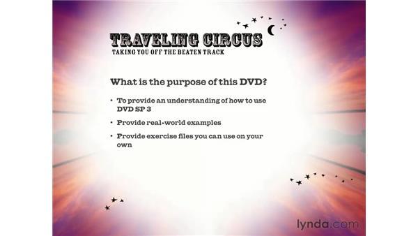 purpose of this DVD: DVD Studio Pro 3 Essential Training