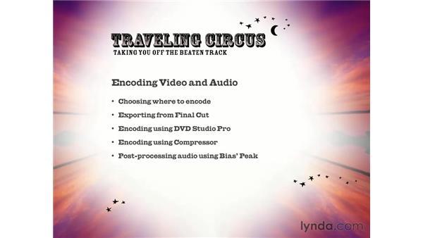 section summary: DVD Studio Pro 3 Essential Training