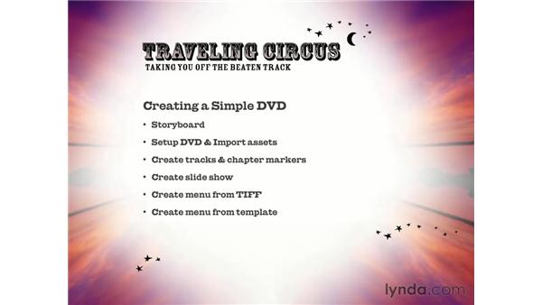 section summary: DVD Studio Pro 3 Essential Training