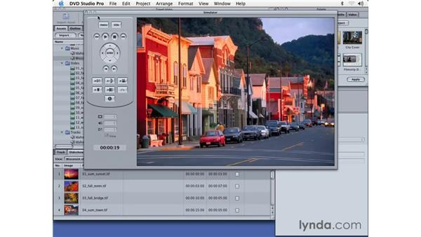 all about slide shows: DVD Studio Pro 3 Essential Training