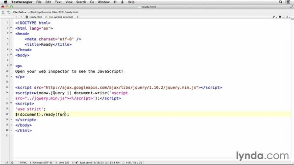 Getting ready: jQuery for Web Designers  (2013)