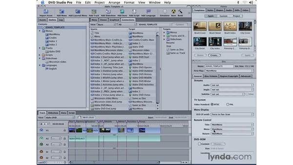 output: DVD Studio Pro 3 Essential Training