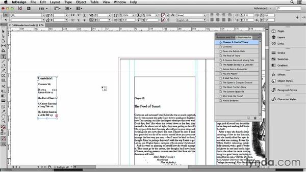 115 Use bookmarks to navigate long documents in production: InDesign Secrets