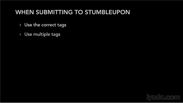 Submitting to StumbleUpon: Bookmarking Sites for Musicians and Bands
