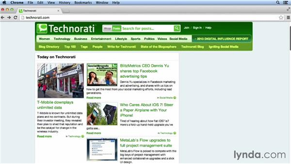Using Technorati: Bookmarking Sites for Musicians and Bands