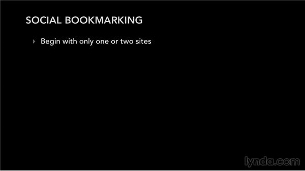 Next steps: Bookmarking Sites for Musicians and Bands