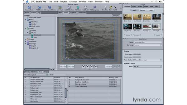 creating stories: DVD Studio Pro 3 Essential Training