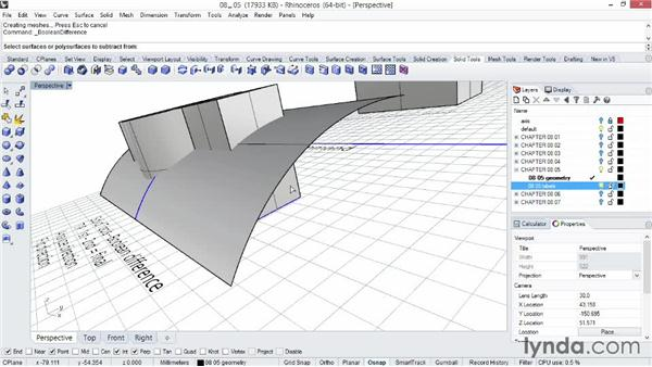 Troubleshooting solids and Booleans