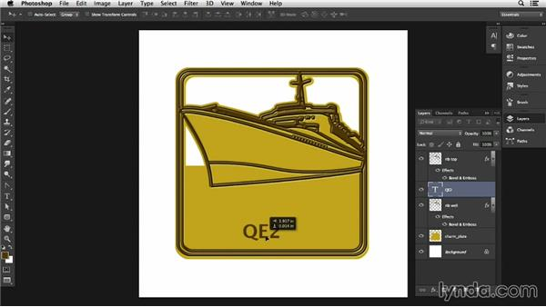 Charms and medallions in Photoshop: Adding details: Pixel Playground