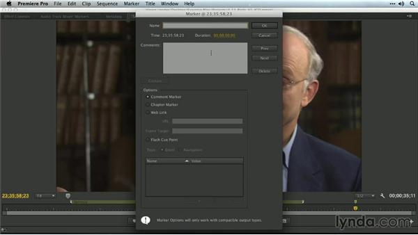 Workarounds with markers: Premiere Pro Guru: Organizing Assets