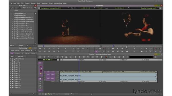 Touring the Composer Monitor and the Timeline: Avid Media Composer 7 Essential Training