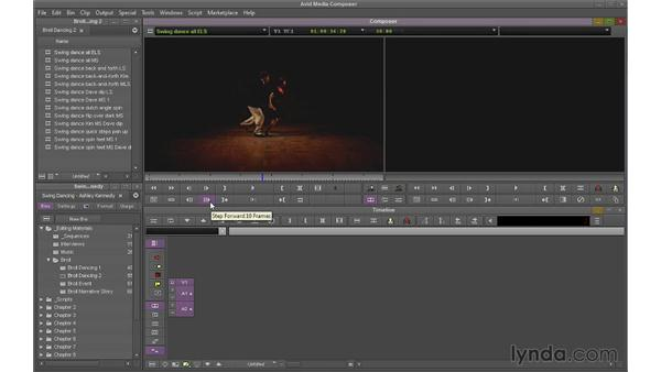 Touring the Edit interface: Avid Media Composer 7 Essential Training