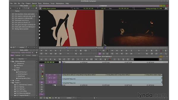 Splicing non-linearly: Avid Media Composer 7 Essential Training