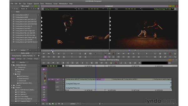Overwriting shots: Avid Media Composer 7 Essential Training